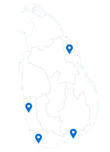Ports in Sri Lanka